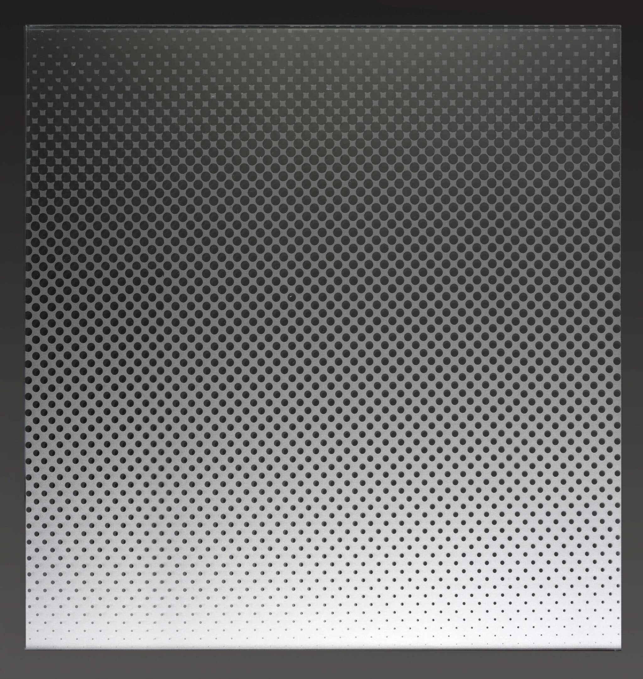Transition Gradient acid etched Pattern-Walker Glass