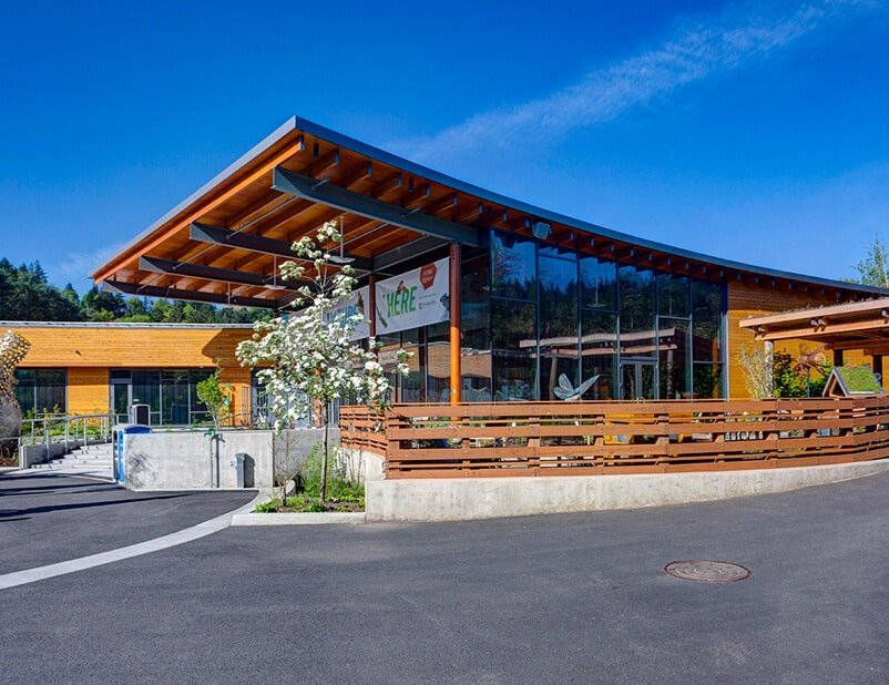 Being Bird Friendly at the new Oregon Zoo Education Center