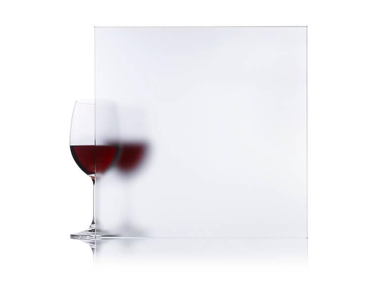 Propriétés et performances du verre dépolis à l'acide